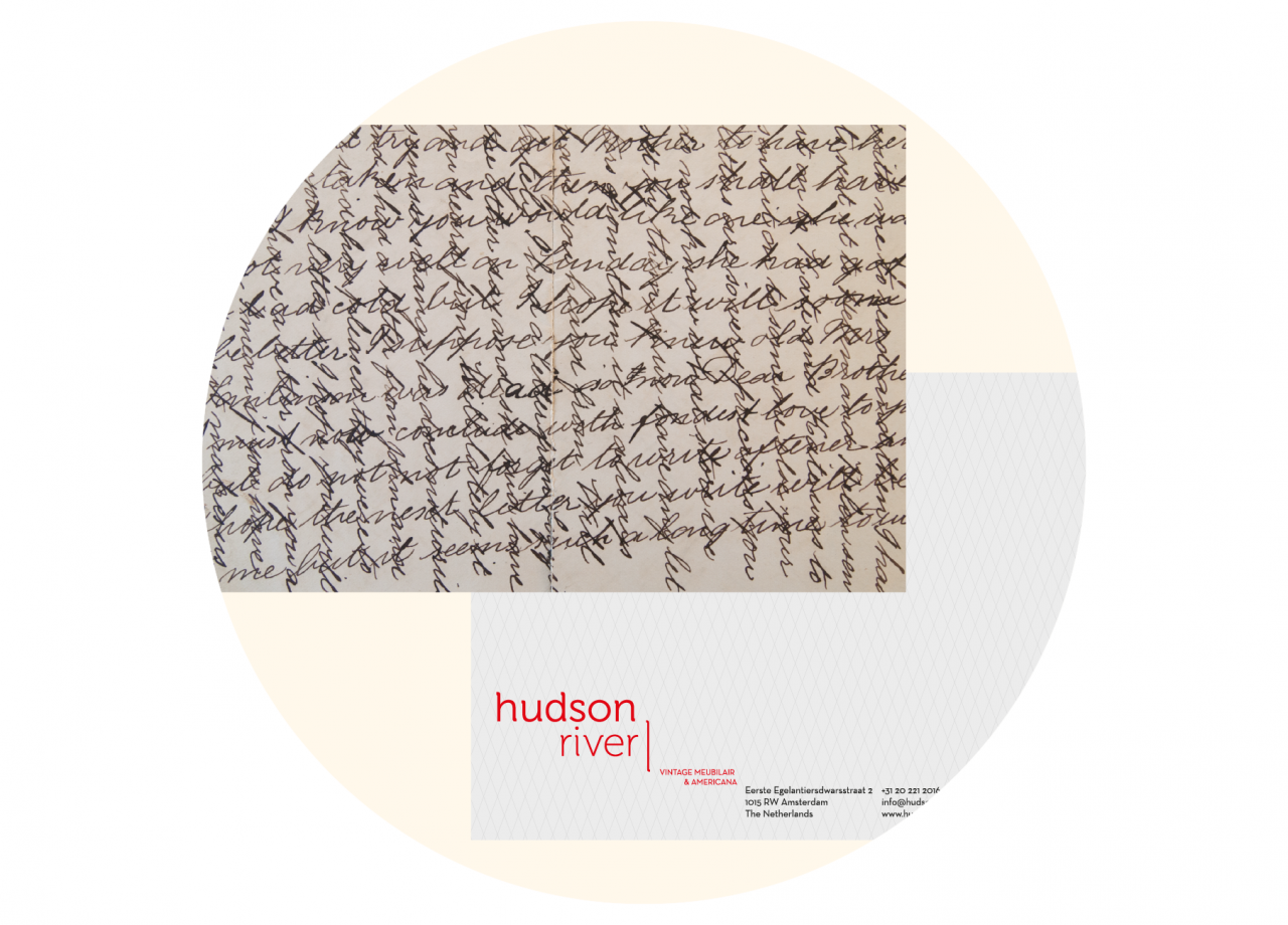 Hud­son RIver note­card