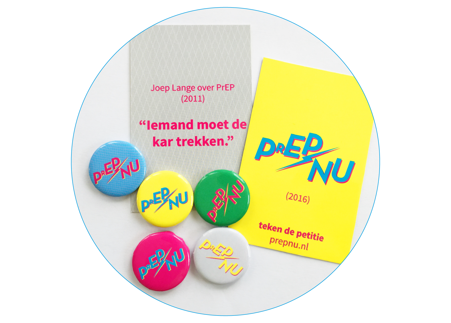 PrEPnu cards and buttons