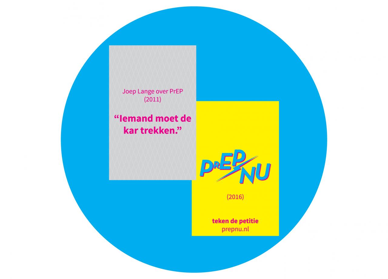 PrEPnu promotional card - Joep Lange