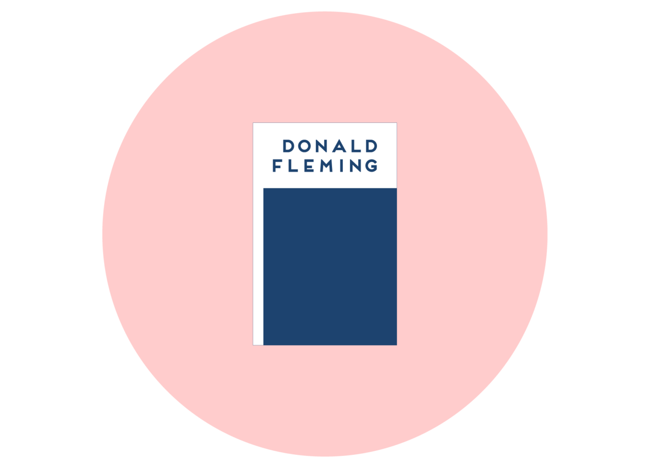 Donald Fleming — Business Card
