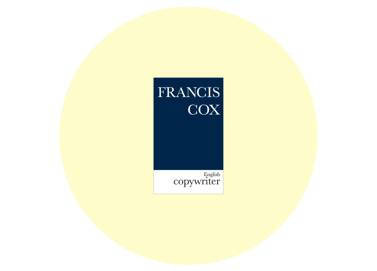 Francais Cox — Business Card