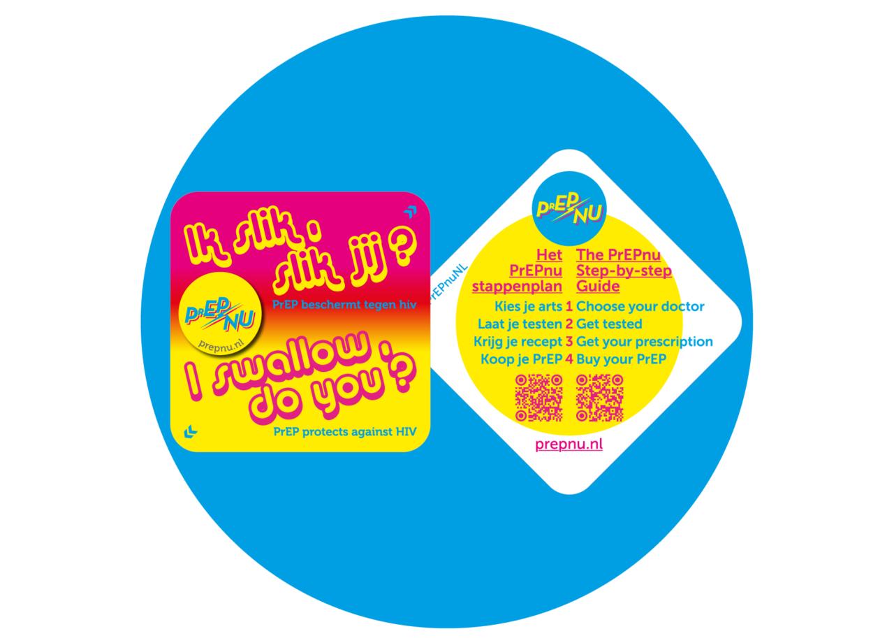 """Ik slik, slik jij?"" — PrEPnu Campaign 2019"